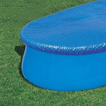 Bestway Abdeckplane Oval für Fast Set Pool 549x366cm: Amazon.de: Garten