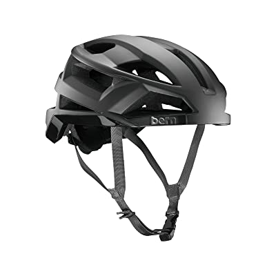 BERN Bike FL-1 Pave MIPS Helmet - Men's Matte Black Small : Sports & Outdoors