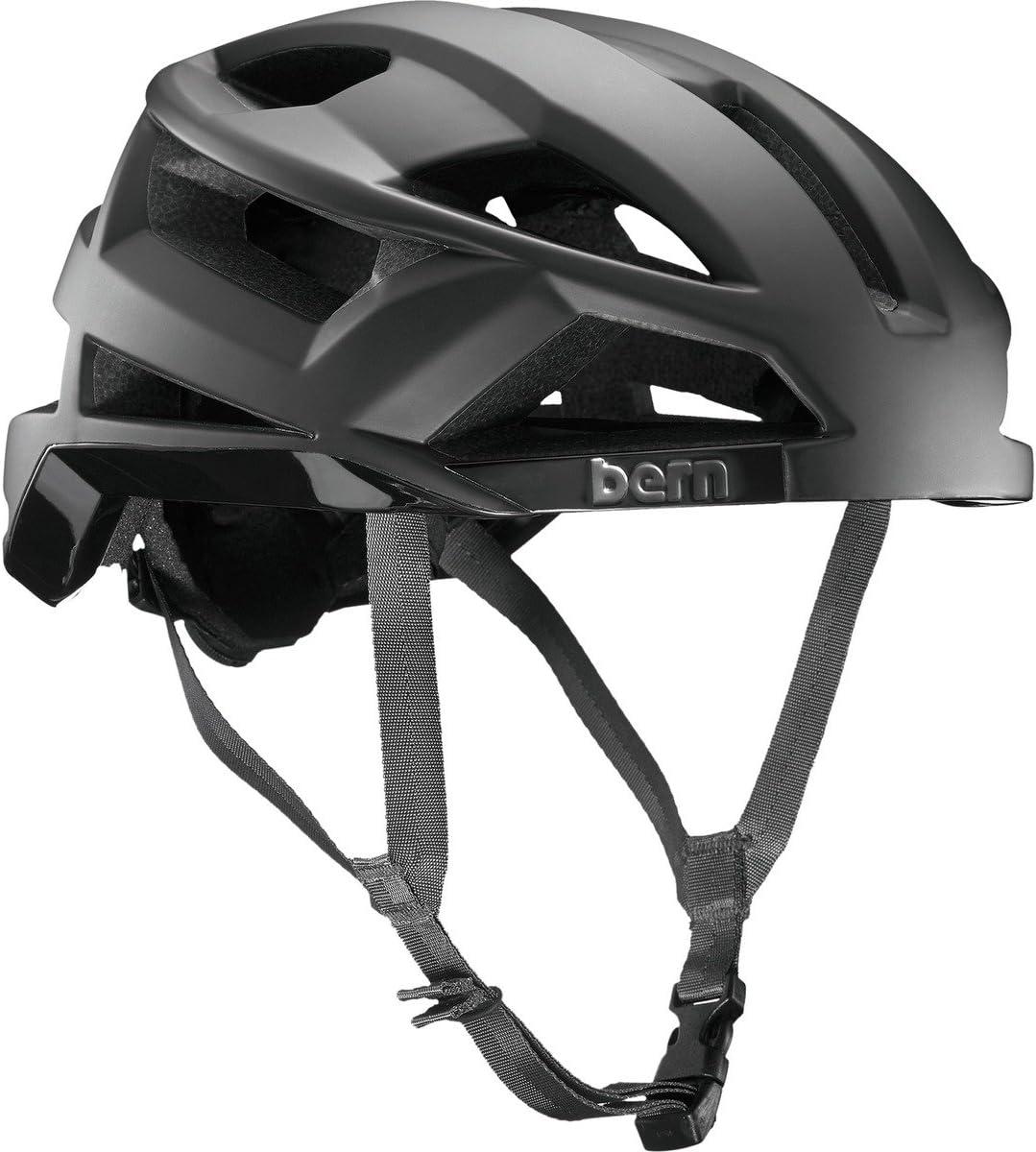 ベルンFL - 1ミップ - メンズ自転車ヘルメット、ブラック(マットブラック)、M