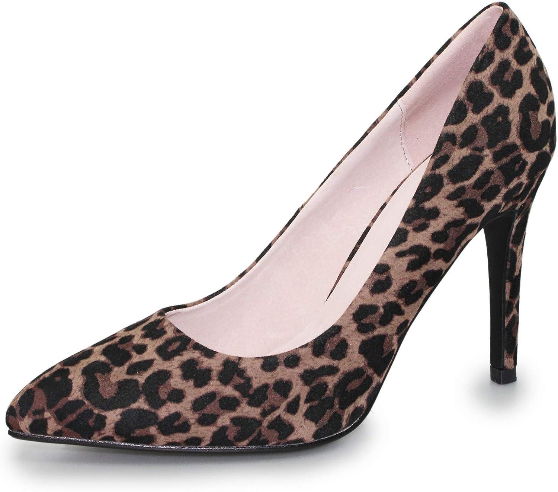 Lunar Womens Sia Leopard Court Shoe