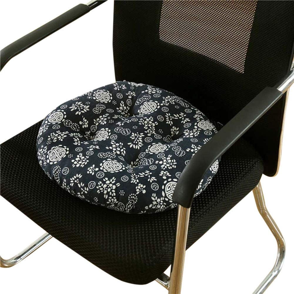 Round Seat Cushion 14 Inch Soft Round Chair Pad Office Chair Cushion