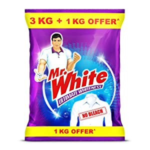 Mr. White Powder - 3KG+1KG FREE (4KG)