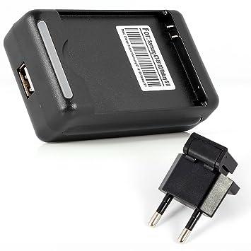 Aukru® Cargador de bateria Externo Adaptador para Samsung ...