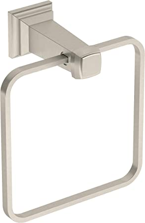 Amazon Com Symmons 423tr Stn Oxford Wall Mounted Towel Ring In Satin Nickel Home Improvement