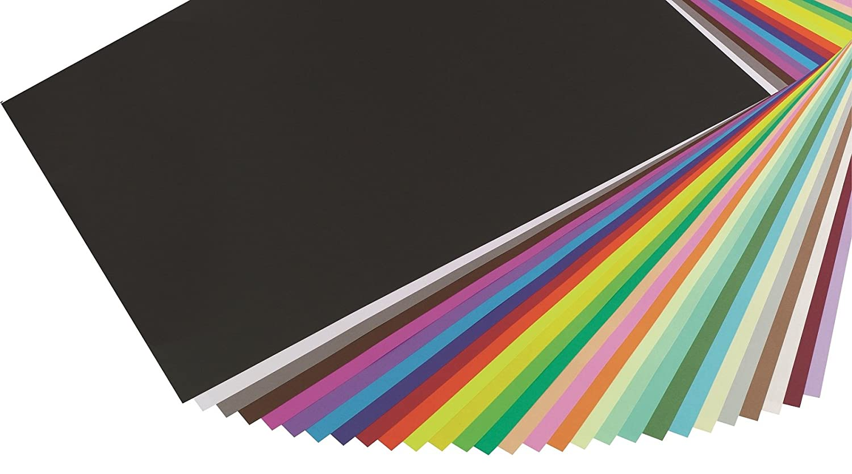 mit 25 B/ögen Zeichenpapier Maya, DIN A1, 59,4 x 84 cm, 270g, glatt, ideal f/ür Trockentechnik und Einrahmen gold Clairefontaine 97980C Packung