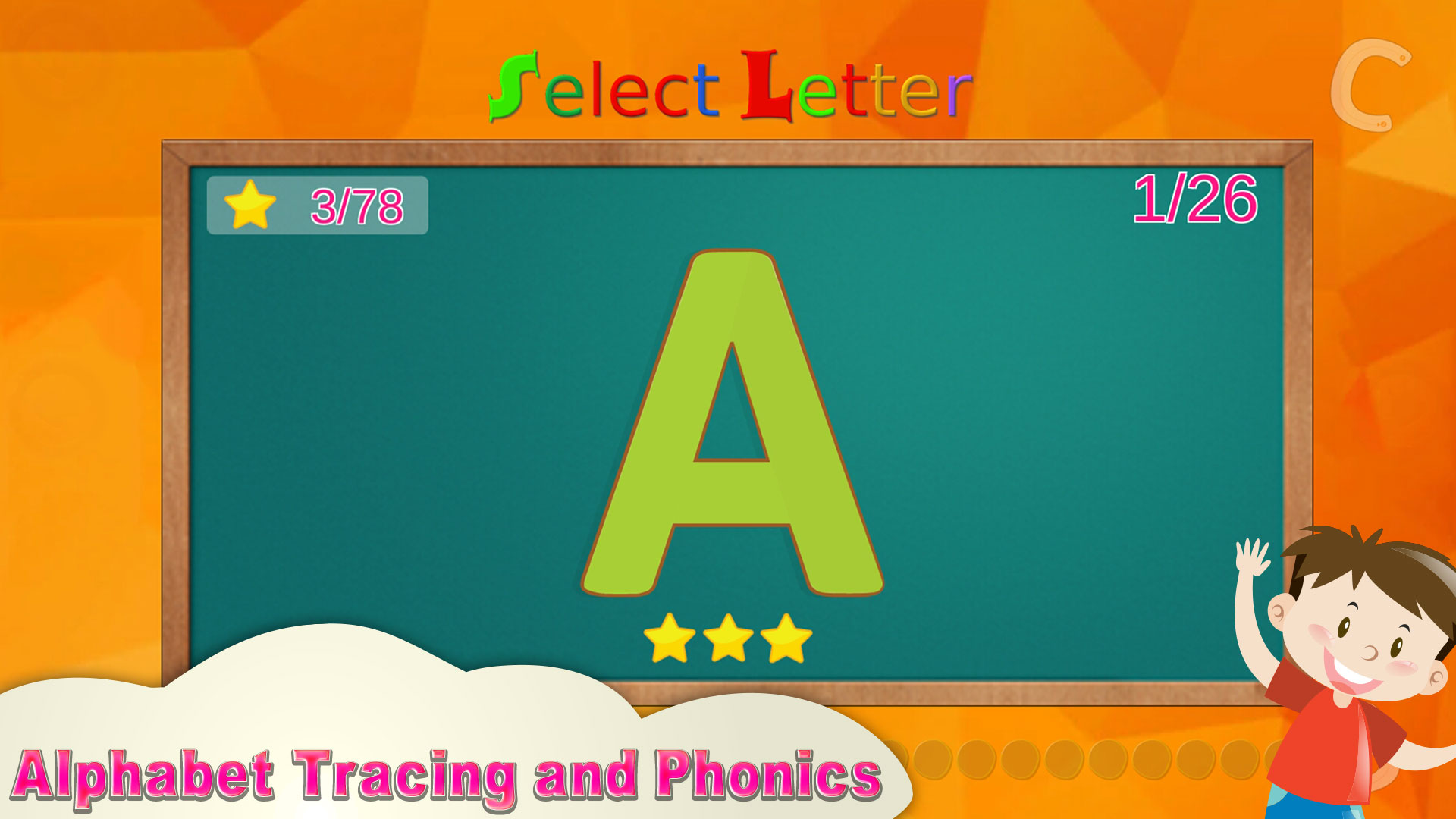 Amazon.com: ABC Learning - Alphabet Tracing and Phonics: Appstore ...