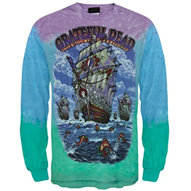 9d2d53e4221 Old Glory Grateful Dead - Ship of Fools Long Sleeve T-Shirt Medium Multi