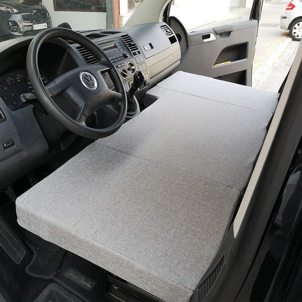 Amazon.es: KFoam.es Colchón Plegable Cama Delantera Camper para Volkswagen T4, T5 y T6