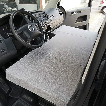 KFoam.es Colchón Plegable Cama Delantera Camper para Volkswagen T4, T5 y T6