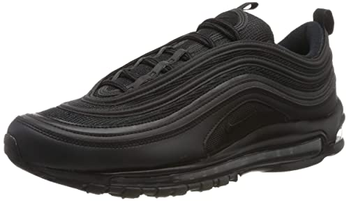 Nike Air Max 97 Mens Running Trainers BQ4567 Sneakers Shoes (UK 8 US 9 EU 42.5, Black White 001)