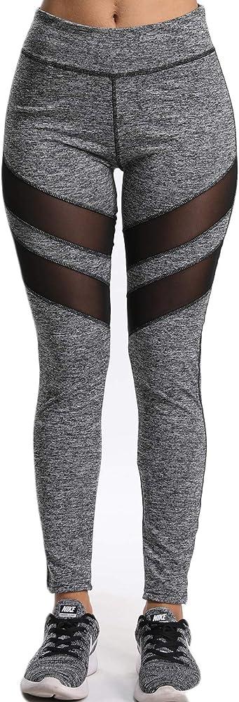 FITTOO Mallas Leggings Mujer Yoga de Alta Cintura Elásticos y ...
