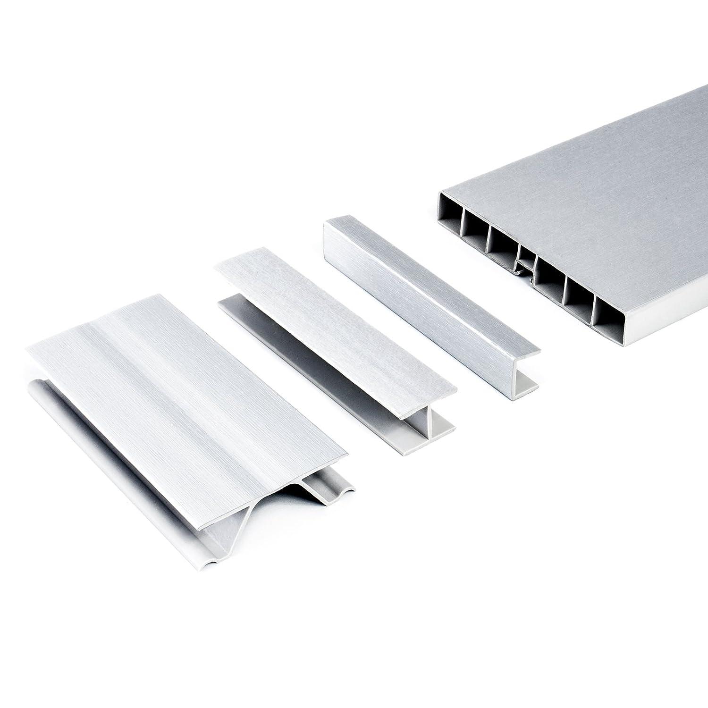 zubehÖrteil fÜr kÜchensockel 100mm verbinder aluminium befestigung ... - Sockelverbinder Küche