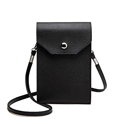 440624190600 Girls Women PU Leather Mobile Phone Bag Storage Case Pouch Cross Body Purse  Small Shoulder Bag