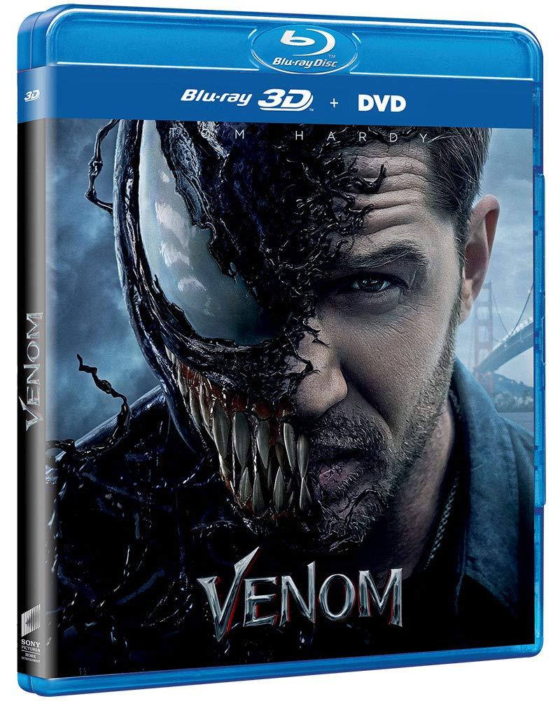 VENOM 3D Region Free Blu-ray 3D + Blu-ray Languages and