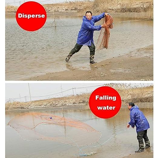 AKBQ Frisbee American Hand Throwing Net - Red Tradicional De Pesca ...