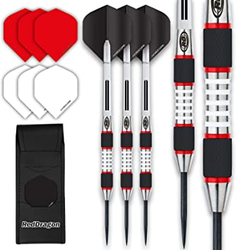 Steel Tip+Shaft+Flight+Barrel+Case 21g//22g//23g//24g//26g New Tungsten Darts Set