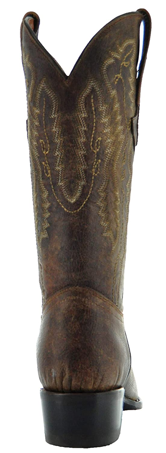 Soto Boots Mens Odessa Round Toe Cowboy Boots