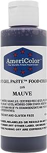 Americolor Soft Gel Paste Food Color, 4.5-Ounce, Mauve