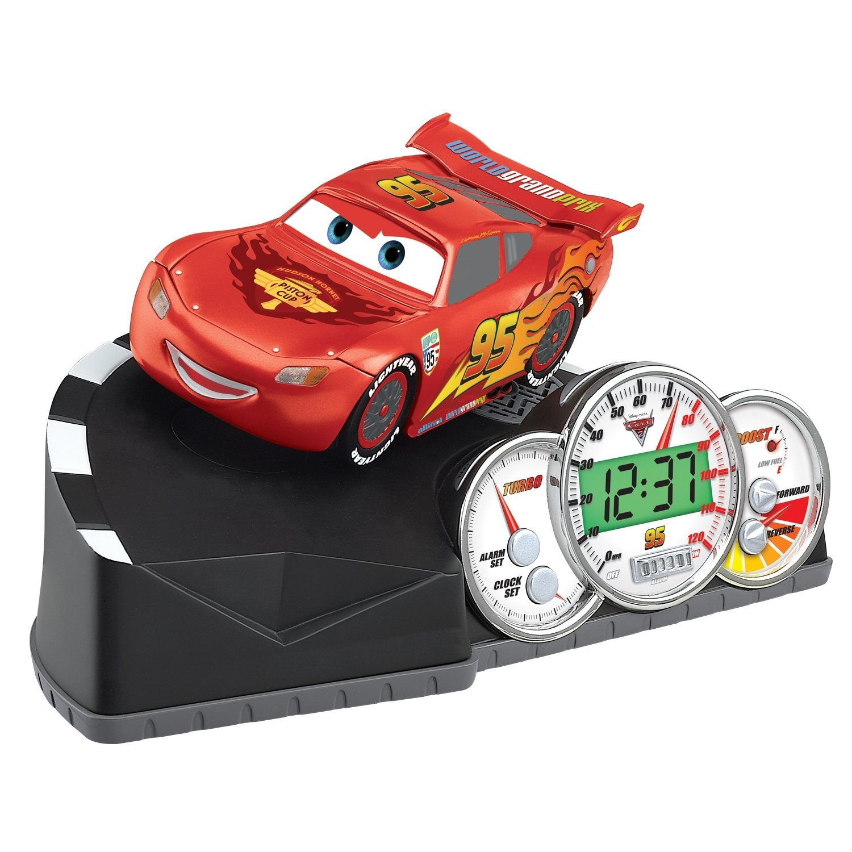 Cars 2 Animated Talking Alarm Clock