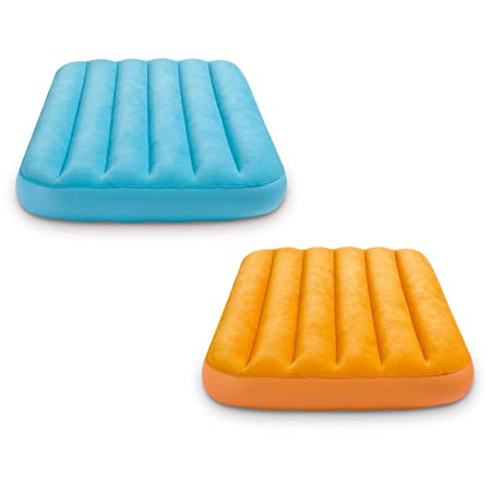 Intex Cozy Kidz Inflatable Airbed, Colors May Vary , 1 Bed