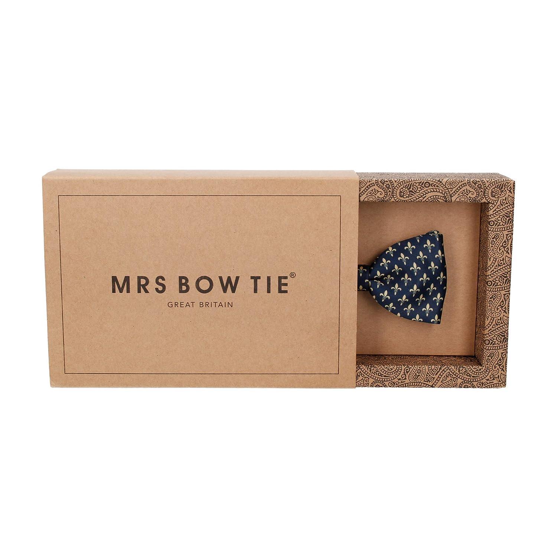Mrs Bow Tie Pre-Tied /& Self-Tying Bow Ties HRH Fleur-de-Lis Bow Ties
