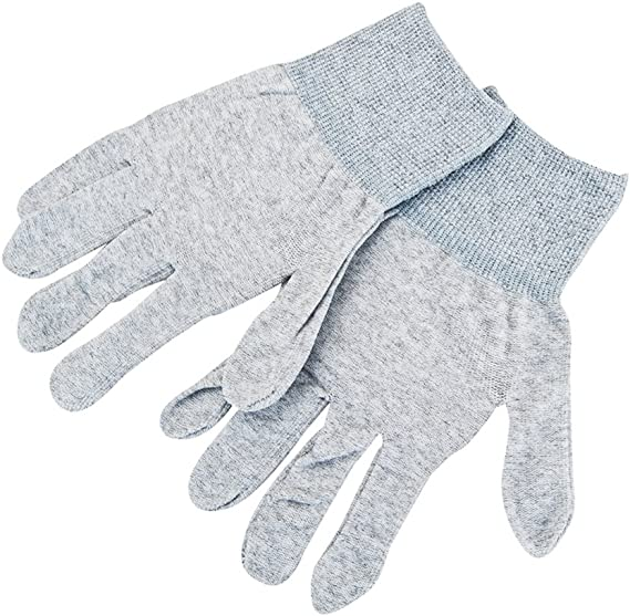 White VSGO DDG-1 1 Pair Nylon Anti-Static Camera Cleaning Gloves with Finger Strengthening Structure