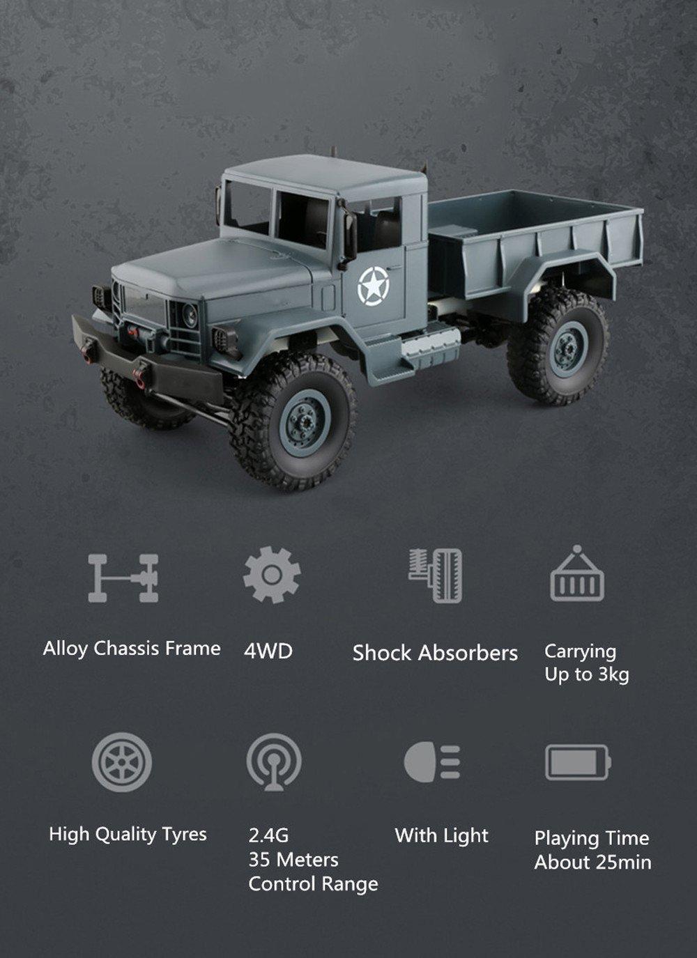 Militar Remoto Control InalámbricoAmamary De Camión 80PkOnwX