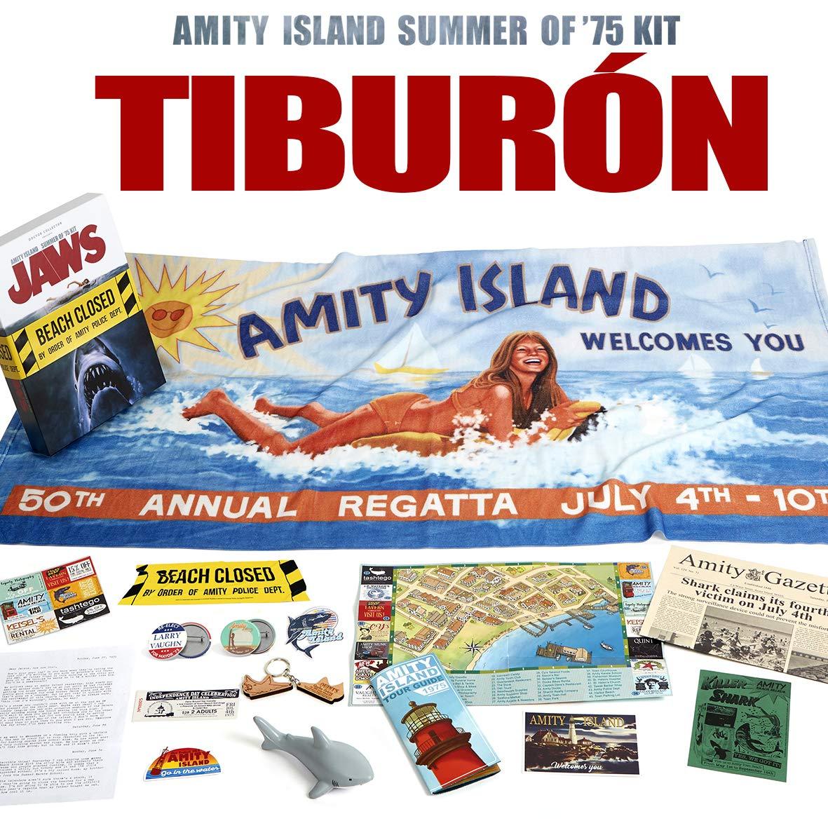 Doctor Collector Tiburón - Amity Island Summer of 75 Kit ...