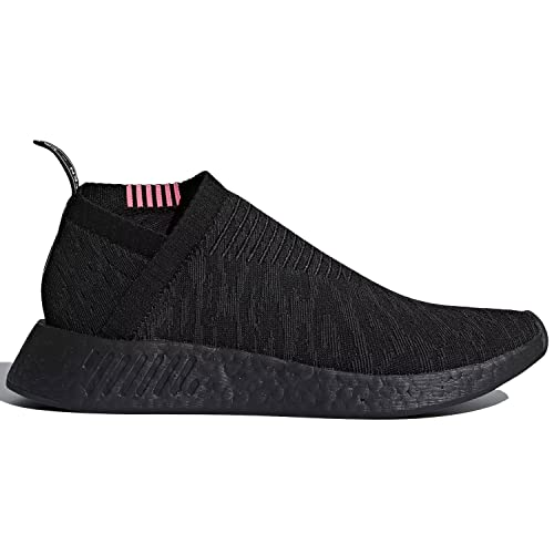 adidas Mens NMD_CS2 PK Primeknit Triple Black Core Black