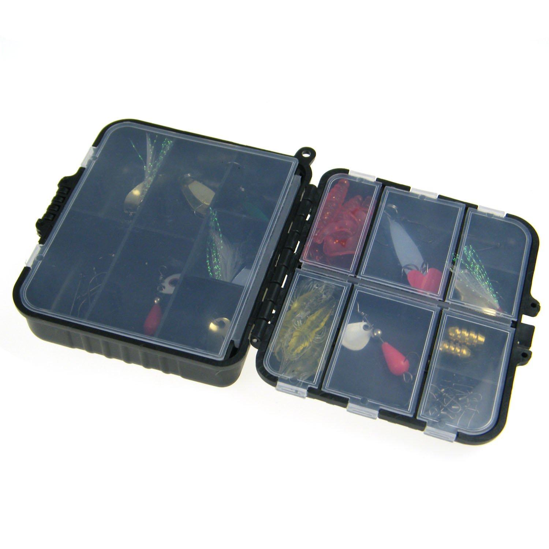 THKFISH - Juego en 1Box láser Spinner de Metal señuelos de Pesca Caja de Aparejos de Pesca Set Kit, 33pcs Fishing Set: Amazon.es: Deportes y aire libre