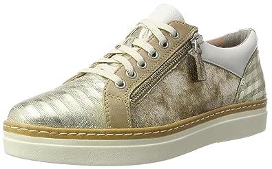 tamaris sneaker weiss mit gold