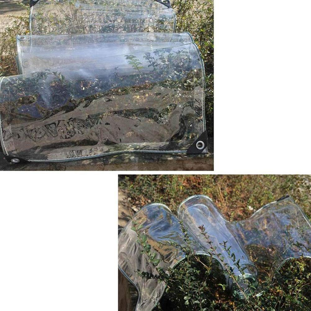 LYXPUZI Transparenter regensicherer Stoff-Sunshine House Plant verschüttete Transparente Plane Zelt Auto Waschraum Vorhang