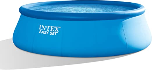 INTEX 15 pies x 48 Pulgadas Piscina Easy Set Set con Bomba del ...