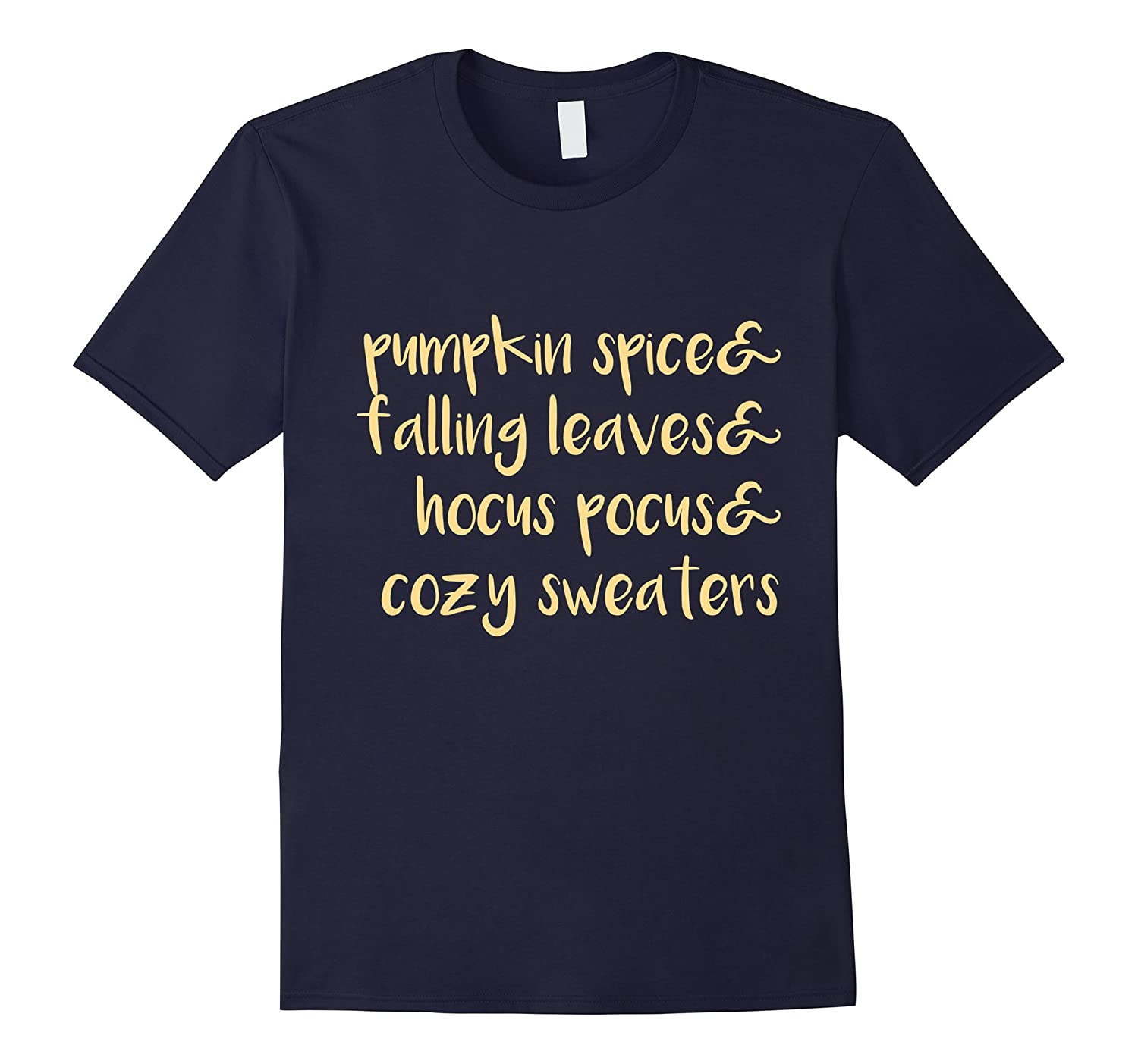 Autumn Cozy T-Shirt, Pumpkin Spice, Fall, Falling Leaves-FL