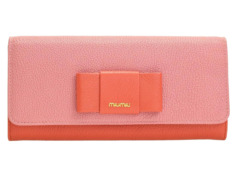 (ミュウミュウ) MIUMIU 長財布 二つ折り パスケース付き 定期入れ 5mh109 [並行輸入品] B072WKV9WQ