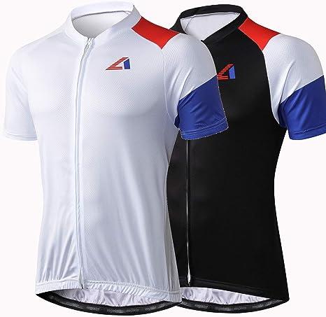 Alpediaa – Camiseta de Ciclismo para Hombre, Camiseta de Ciclismo ...