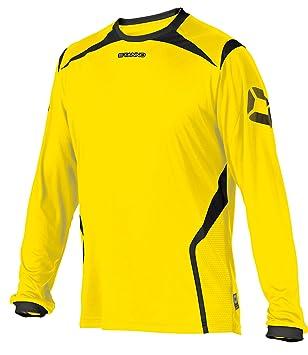Stanno Torino Junior es de camiseta de fútbol de manga larga, Niño, color Amarillo