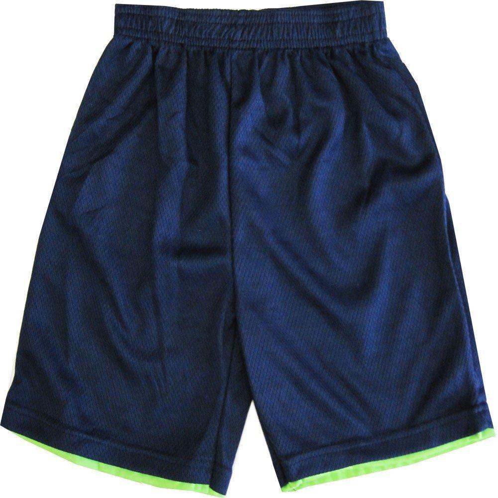 Ninja Turtles TNT Little Boys Navy Blue Basketball Shorts 4