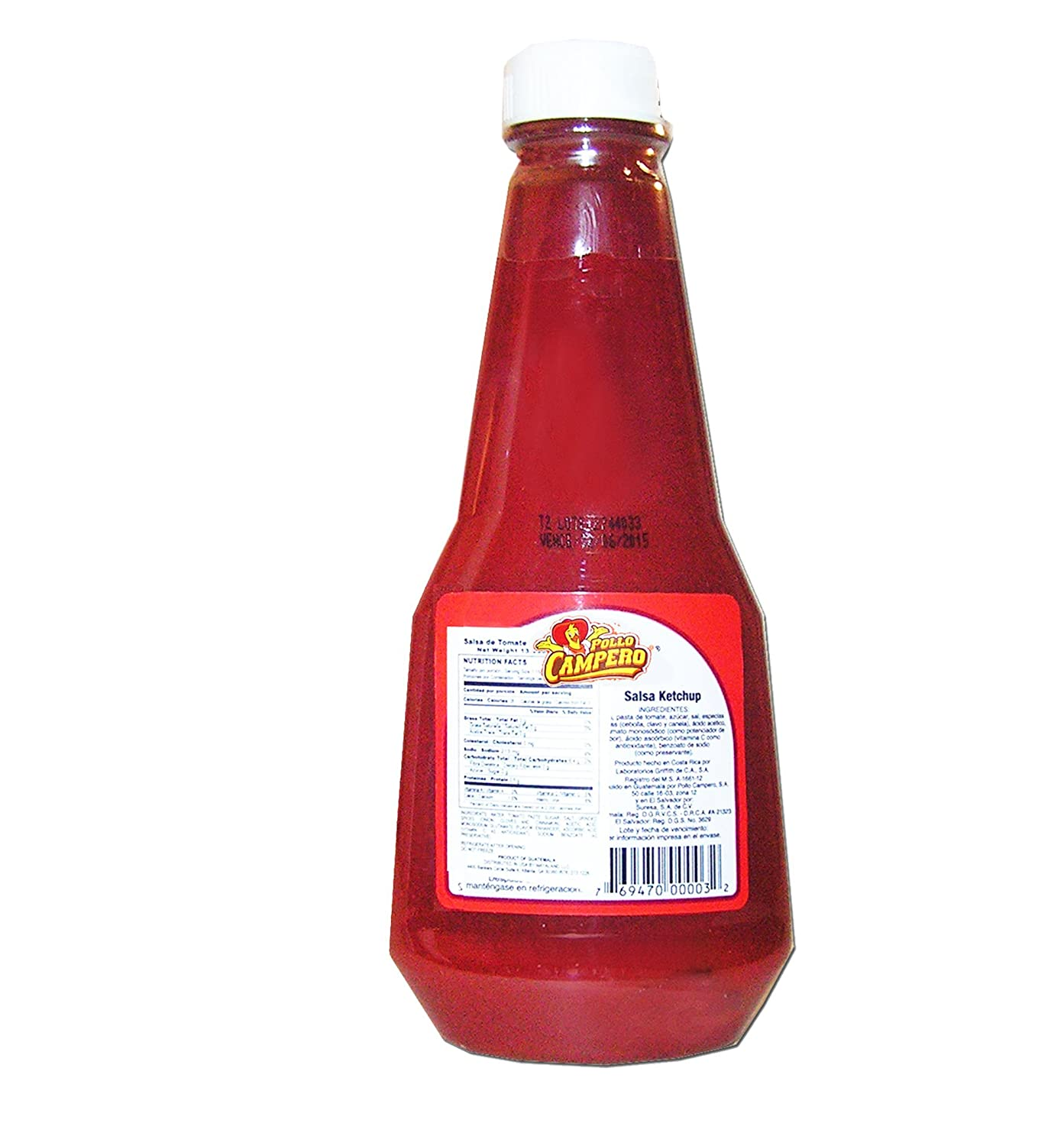 Amazon.com : Campero Ketchup 14 oz - Salsa De Tomate : Grocery & Gourmet Food