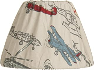 """product image for Glenna Jean Fly-by Lamp Shade Only, Airplane, 9"""" x 12"""""""