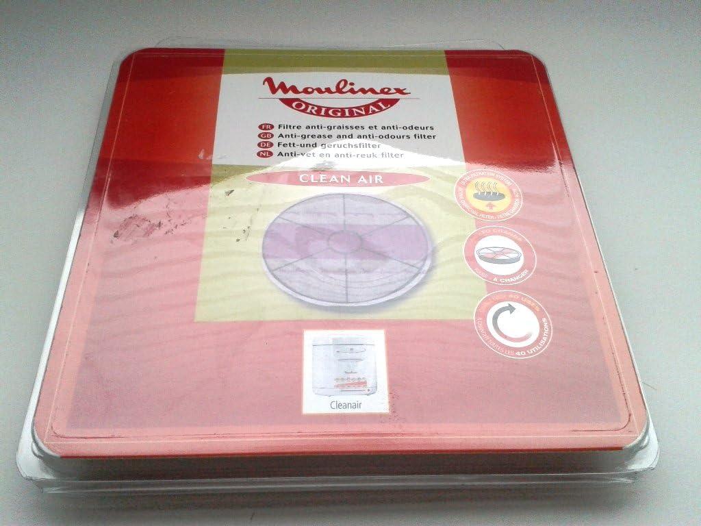 280339-9961 Fritteuse XA004D00 XA005000 Moulinex Filterpatrone Super Uno