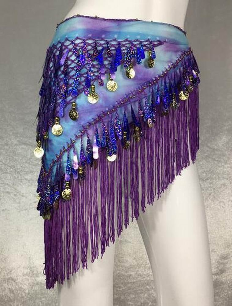 Stylish Belly Dancing Belt Waist Chain Belly Dance Hip Scarf
