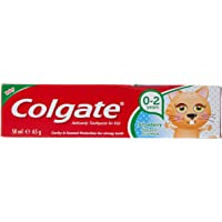 Colgate Kids Toothpaste Gel 0-2 years old Strawberry - 50 ml