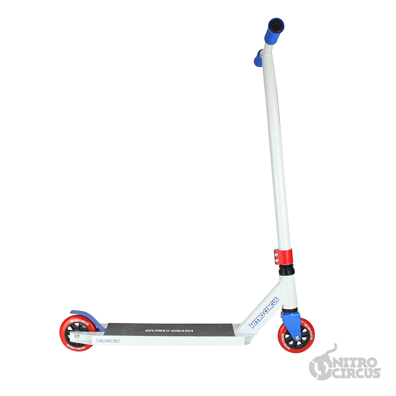 Rot Nitro Stunt-Scooter Circus CX2 Complete Pro Wei/ß//Blau