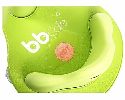 Gelb BBCare Baby Sicherheitsbadesitz mit weicher Minimatte und farb/ändernder Hot Spot
