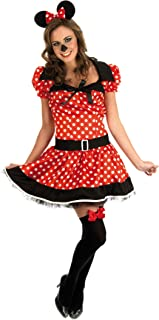 Missy Mouse - Red - Adult Fancy Dress Costume - Medium - 12-14  sc 1 st  Amazon UK & Rubieu0027s Official Ladies Disney Minnie Mouse Adult Costume - Small ...