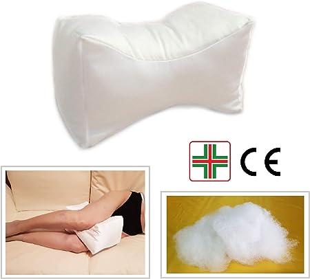 Cuscino Per Chi Dorme Di Lato.Papillon Bianco Cuscino Per Ginocchio E Gambe In Fibra Cava