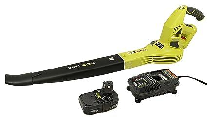 Amazon.com: Ryobi One+ 150 MPH 200 CFM. Kit soplador de ...