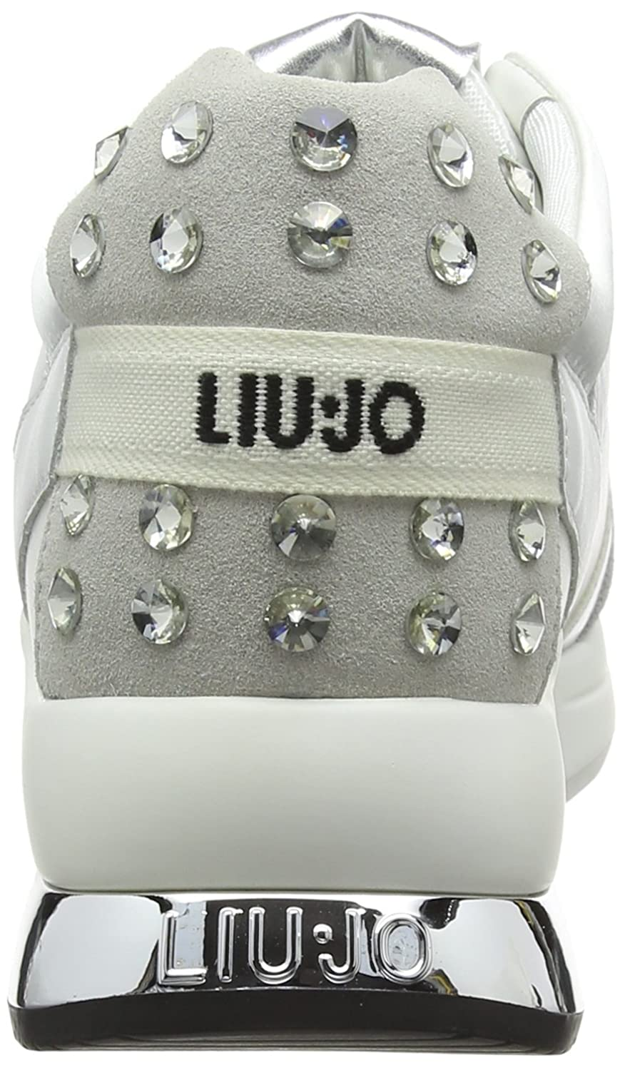 Liu.Jo Sneakers Miranda Bianca  Amazon.it  Scarpe e borse 69b668bd4ea