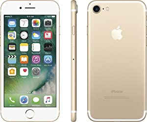 Apple iPhone 7, 256GB, Gold - For GSM (Renewed)